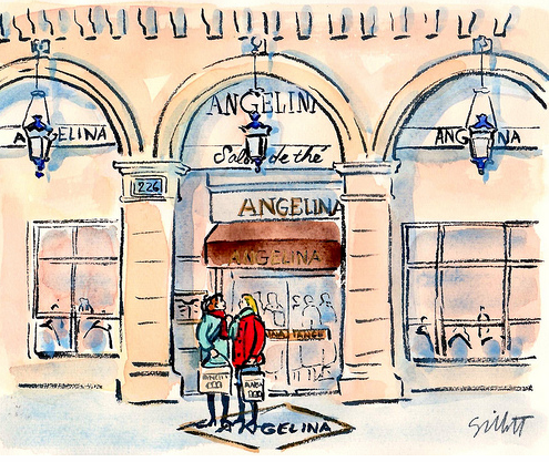 Angelina Tea Salon Paris