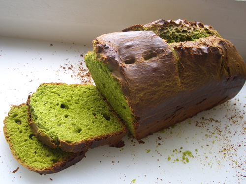 green tea brioche
