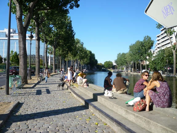 Canal St Martin EBB