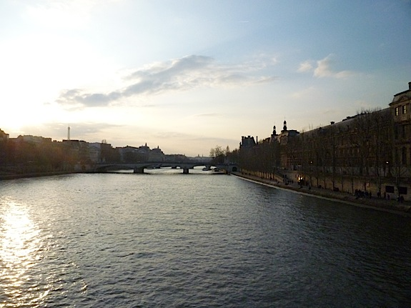 View of the Seine - Erica Berman