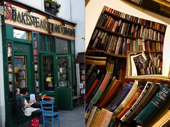 English Bookstores Paris