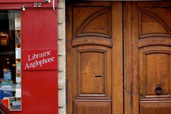 English Bookstores Paris - The Red Wheelbarrow