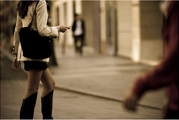 Paris Woman Street