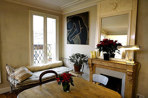 Vacation Rental Paris Montmartre Houdon