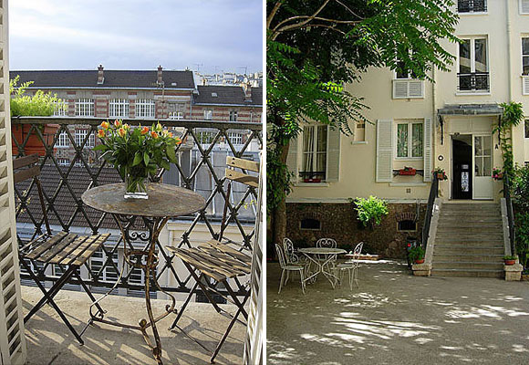 Vacation Rental Paris Apartment Houdon