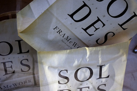 Soldes Paris Summer Sales