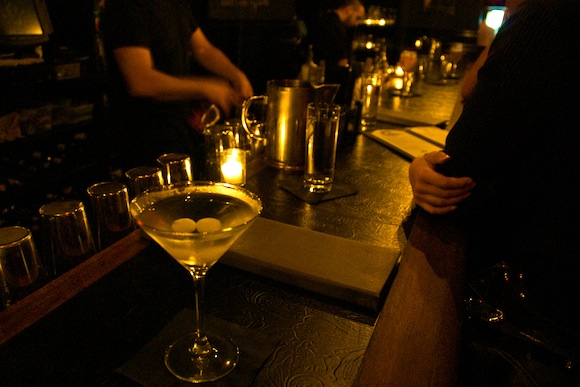 Paris Dave Bloom Martini cocktail apero