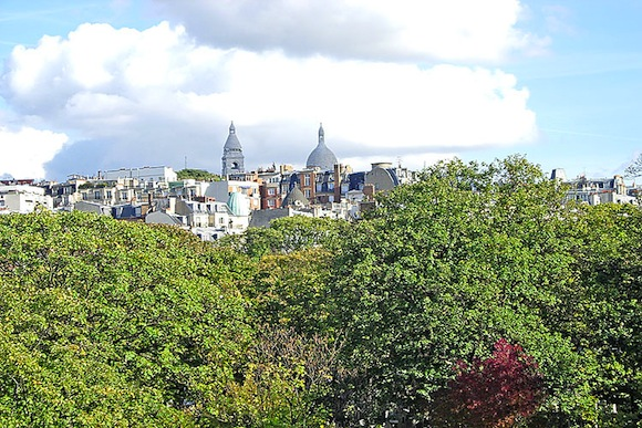Paris Pilleux Montmartre Studio View