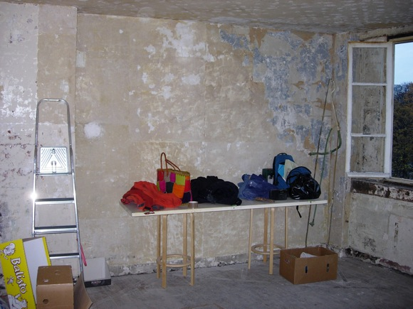 Pilleux Wall before renovations
