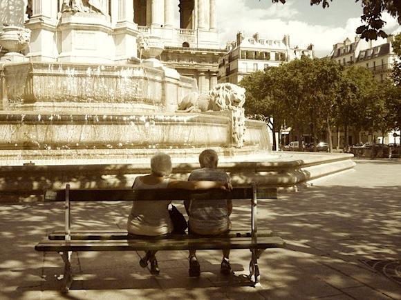 St Sulpice Paris August 2010