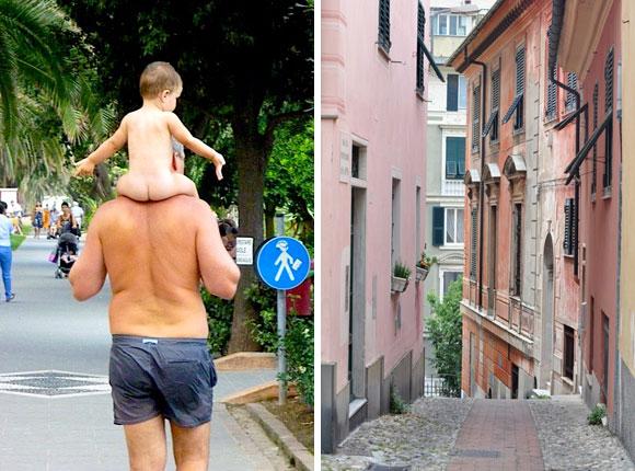 Life in Italy vs France