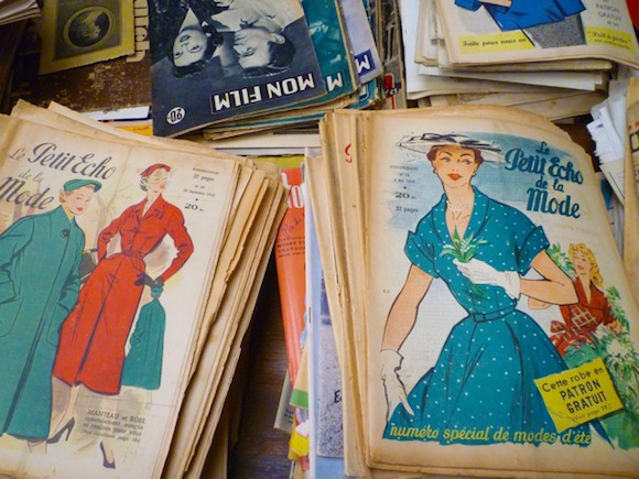 Flea Market Normandy patterns