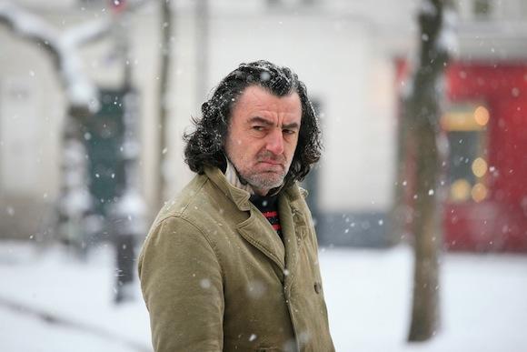 Grumy French Man Snow