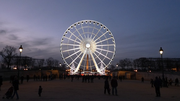 La Grande Roue at the Place de la Concorde, Paris