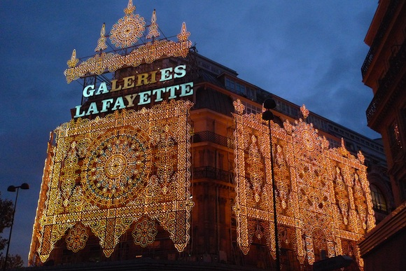 Façade of Galleries Lafayette in 2009
