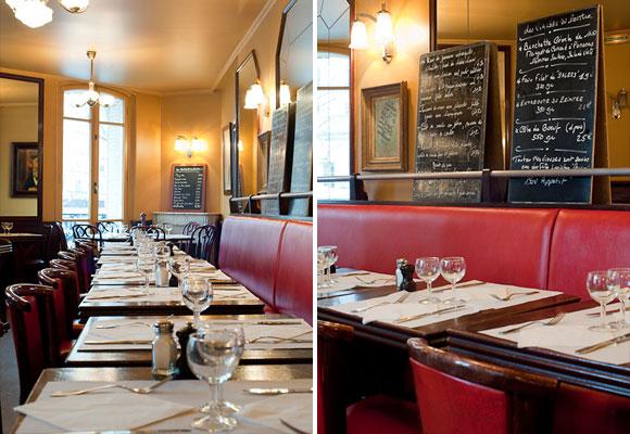 Bistrot du peintre a legit restaurant on paris right bank hip paris blog - Les table du bistrot limoges ...