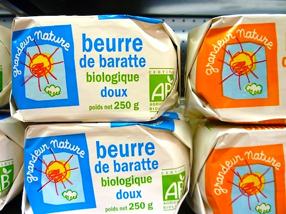 Where to buy butter in Paris when lactose-intolerant.