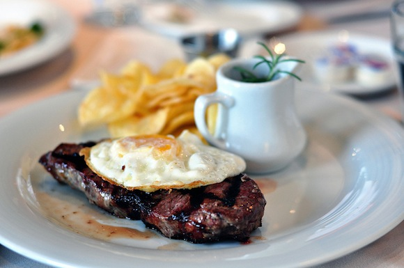Decoding the French menu is an art, especially when it has things like steak à cheval on it, which is simply steak with a fried egg on top.