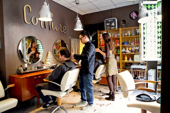 Hip paris blog finding a hairdresser in paris le living for Living room coiffeur