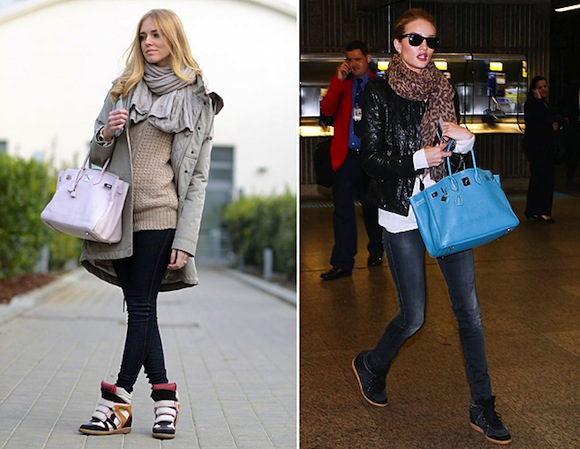 HiP Paris Blog » Wedge Sneakers: Paris Fashion Do or Don't?