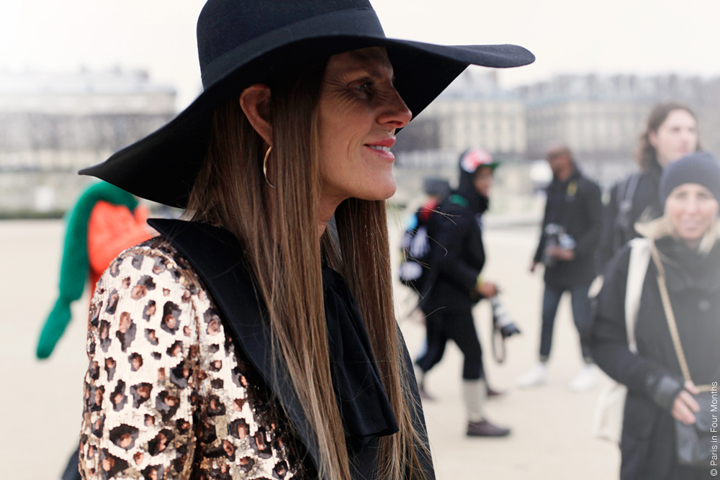HiP Paris Blog, Carin Olsson, Anna dello Russo at Paris Fashion Week FW13