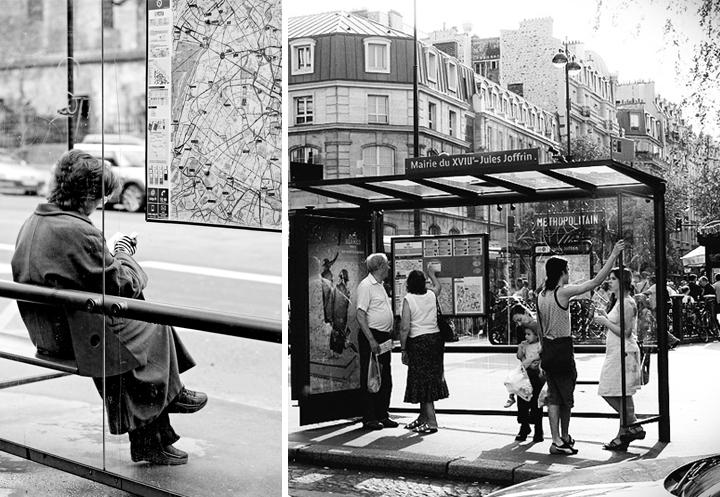 HiP Paris Blog, Carin Olsson, JR_Paris, Taking the bus in Paris