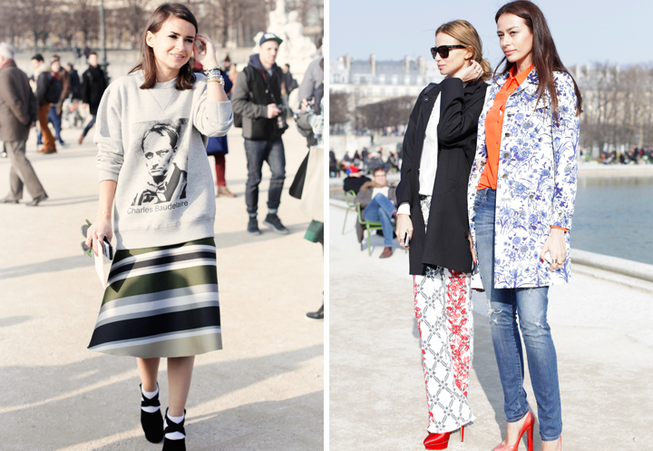 HiP Paris Blog, Carin Olsson, Miroslava Duma at Paris Fashion Week FW13