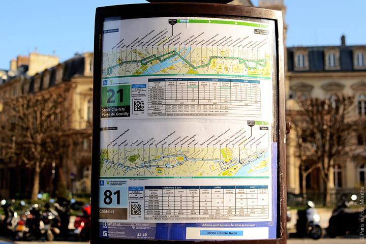 HiP Paris Blog, Carin Olsson, Taking the bus in Paris
