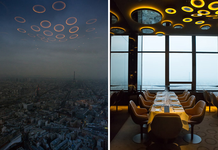 Großzügig Ciel De Paris Franzosische Restaurant Bilder ...