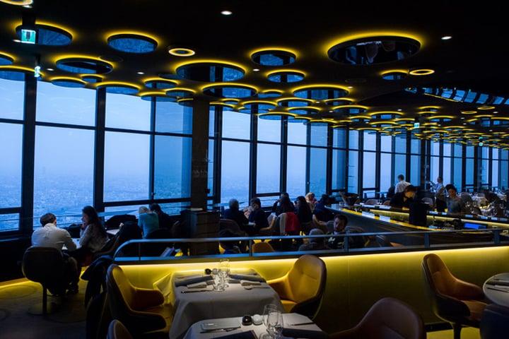Le ciel de paris a stylish and delicious dining room with a view hip paris blog - Ciel de bar cuisine ...