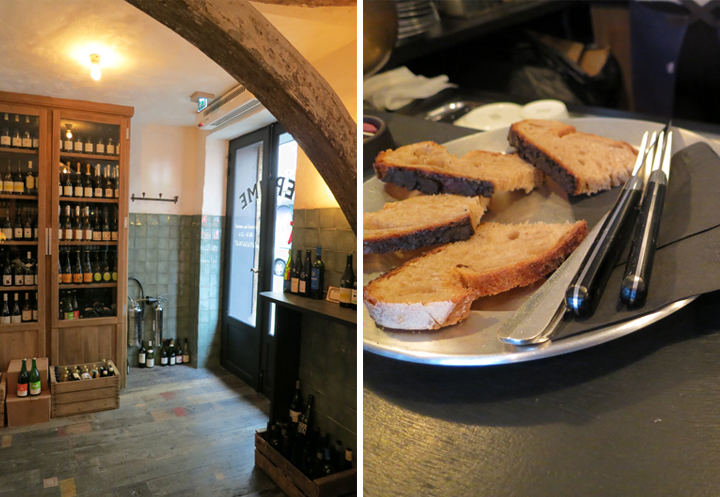 HiP Paris Blog, Forest Collins, Wine-Food Bar Roundup, Septime Cave