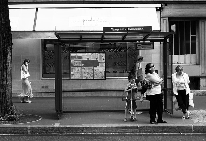 HiP Paris Blog, JR_Paris, Taking the bus in Paris