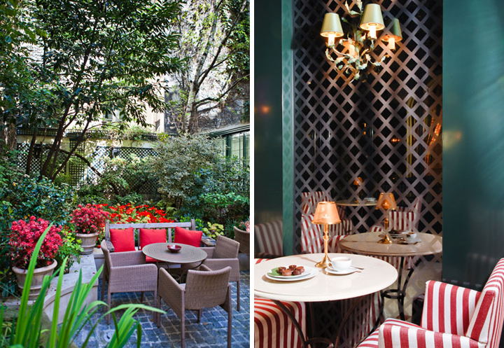 HiP Paris Blog, Forest Collins, Hotel de l'Abbaye, 5 Best Hotel Bars in Paris