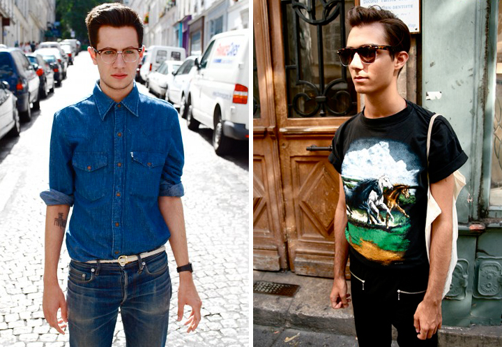 HiP Paris Blog, Swagger in Paris, Parisian Male in the Spring