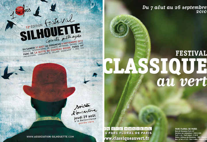 HiP Paris Blog, Festival Silhouette, Festival Classique au Vert, August Events
