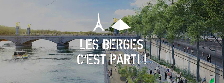 HiP Paris Blog, Les Berges, August Events