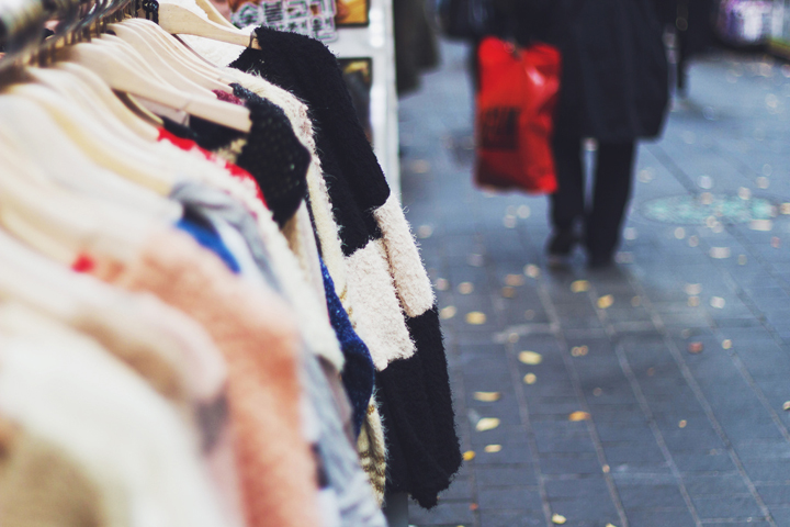 Shopping on a budget in Paris is possible when you go to the city's many markets.
