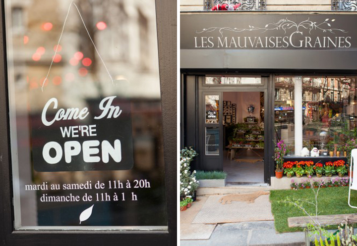 HiP Paris Blog, Les Mauvaises Graines, Montmartre Round Up