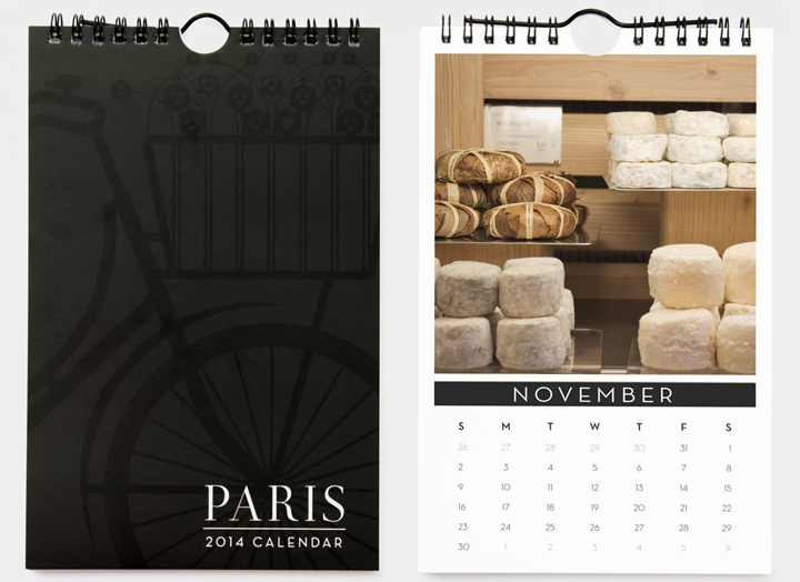 Holiday Gift Guide, HiP Paris Blog, Calendar by Nichole Robertson