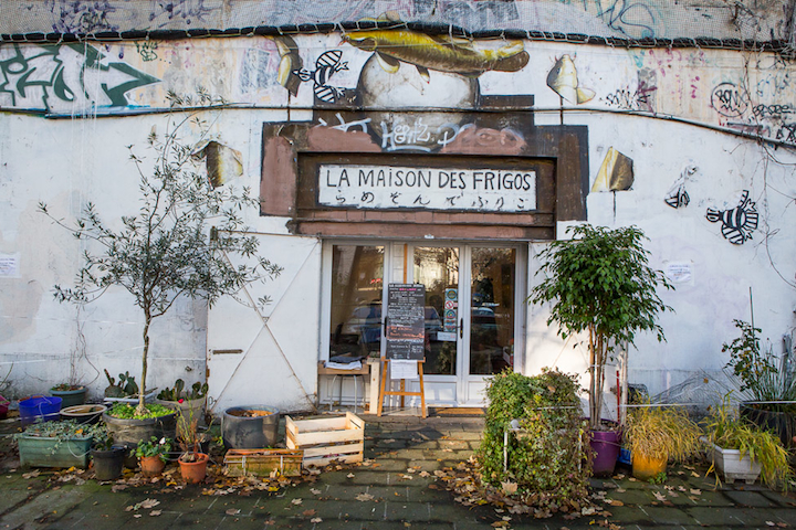 Hip paris blog la maison des frigos hidden lunches in a for La maison du cafe paris