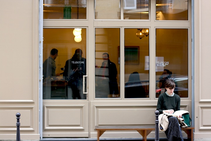 New Coffeeshops in Paris: Telescope