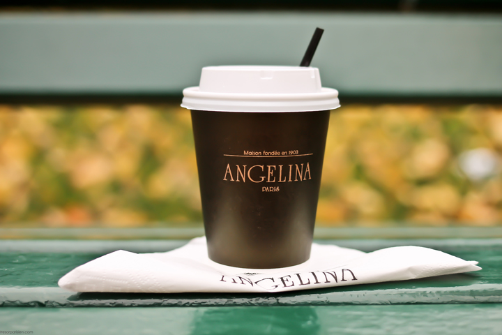 Hot Chocolate in Paris, Angelina, HiP Paris Blog, Photo by Aisling Greally