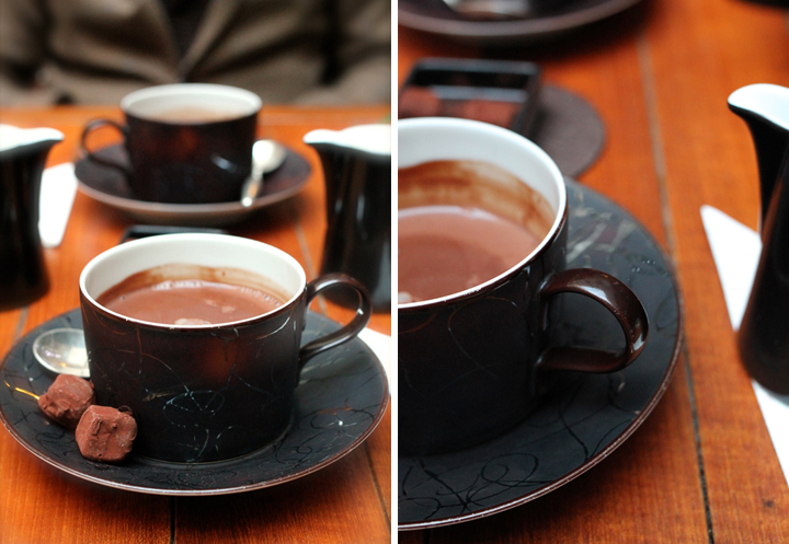 Hot Chocolate in Paris, Park Hyatt, HiP Paris Blog, Photo by Aisling Greally 1
