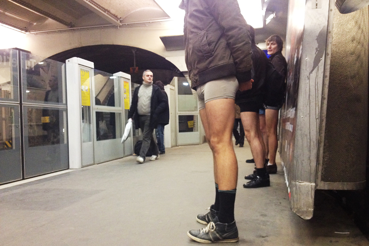 Sans Pantalons, HiP Paris Blog, Photo by Elise Marafioti