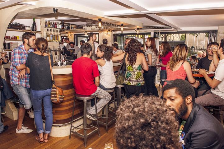 Craft Beer in Paris: La Fine Mousse