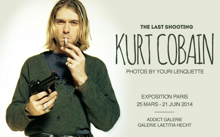 April Events, HiP Paris Blog, Photo by The last shooting, Kurt Cobain