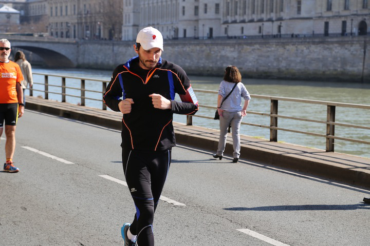 Jogging in Paris, HiP Paris Blog, Photo by Casey Hatfield
