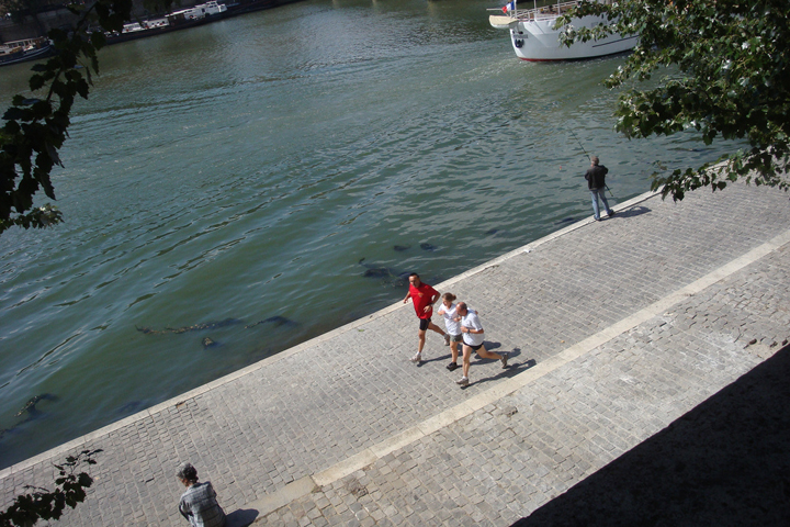 Jogging in Paris, HiP Paris Blog, Photo by Julie70