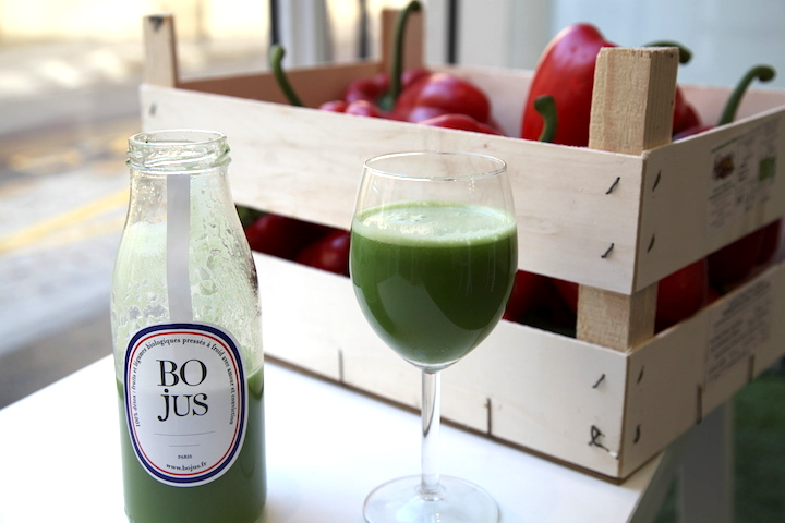 Juice Bar Roundup, HiP Paris Blog, Photo by Kirstin, Kale Project 4