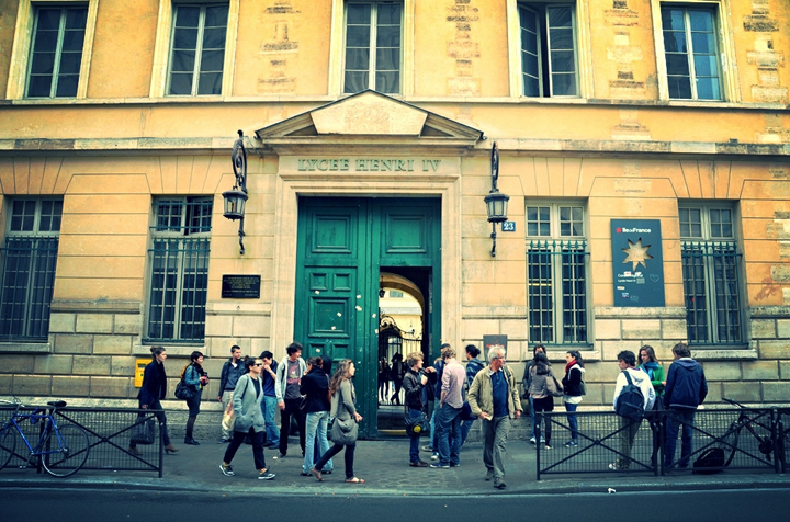 Parenting in Paris is about knowing which school to go to and Lycée Henri IV is among the best in the city.